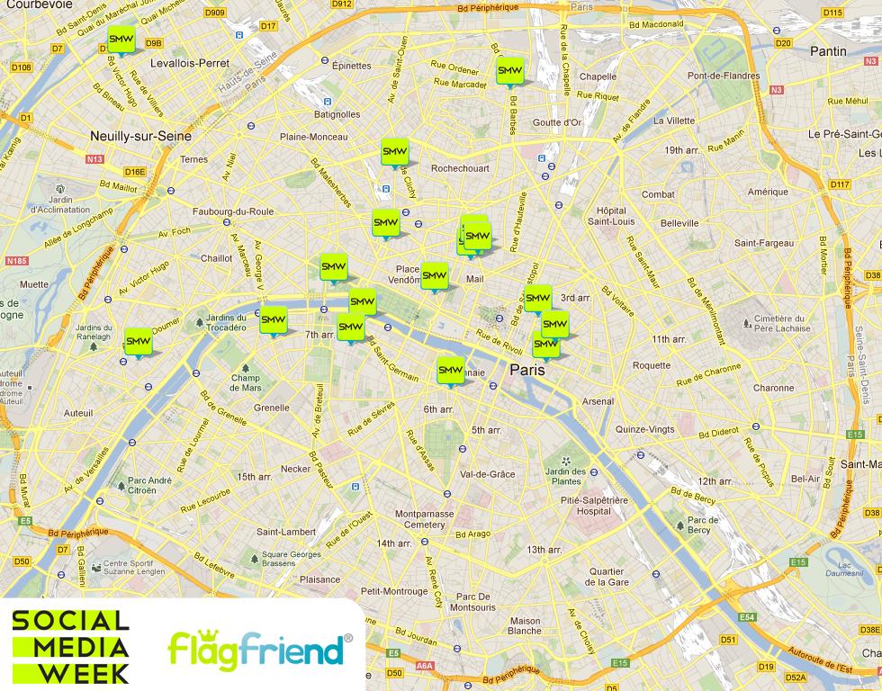 Map Social Media Week