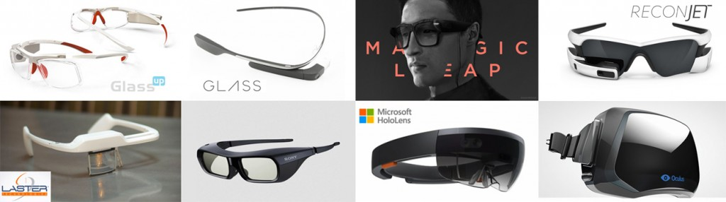 Some companies building smart Glasses