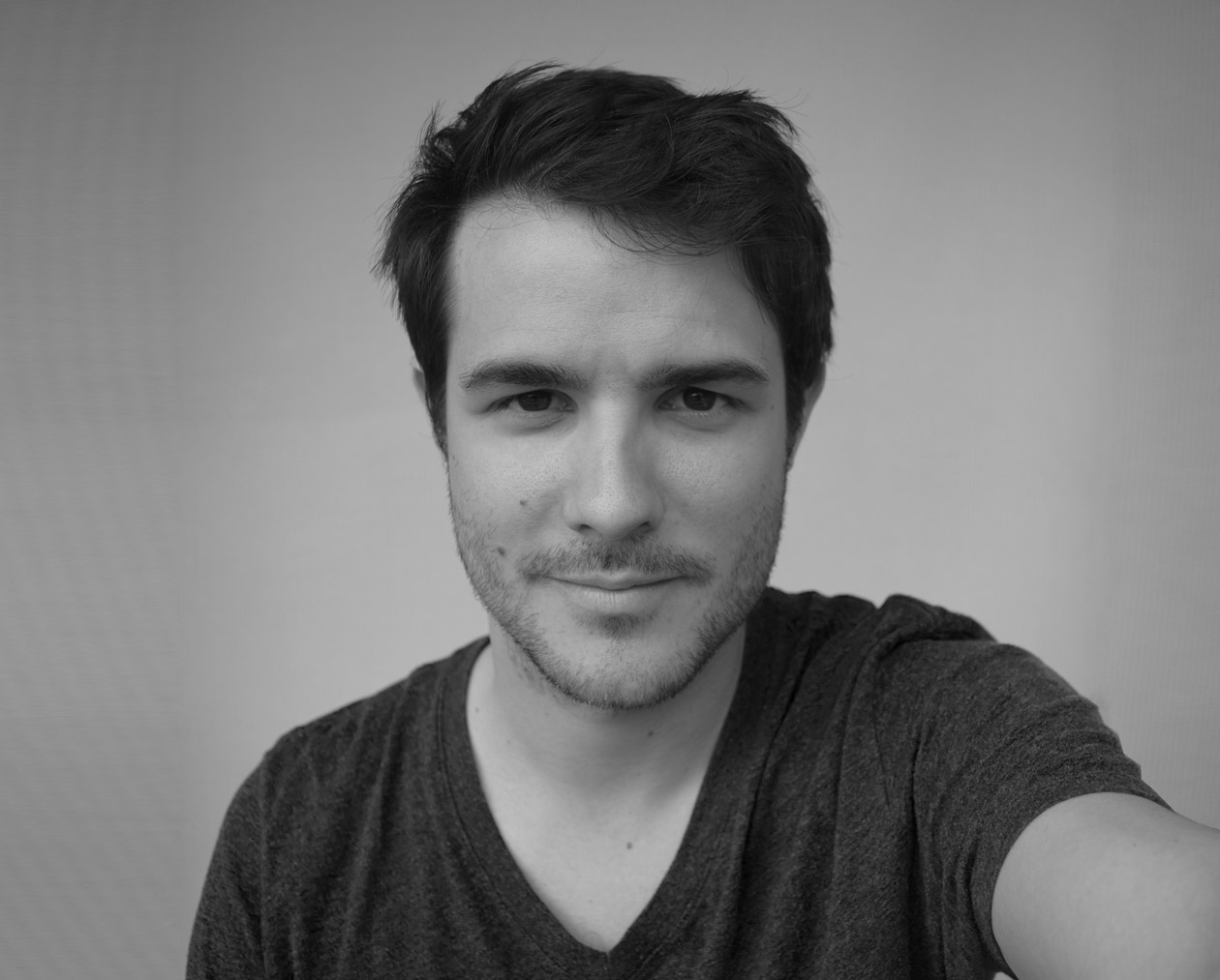 Selfie Olivier Gatelmand Portrait