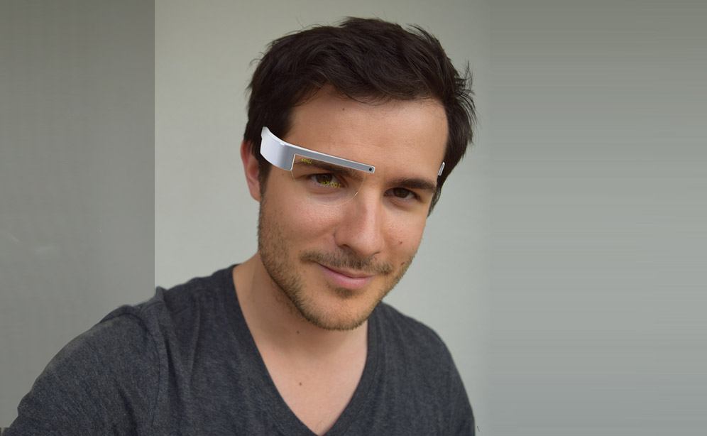 Smart Glass Olivier Gatelmand prototype design thumb