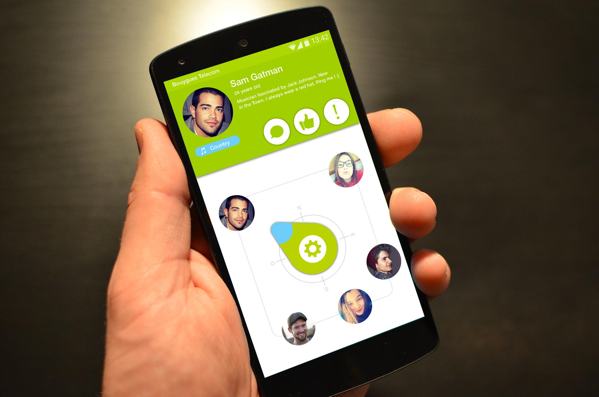 Social Compass Gatelmand Nexus 5